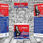 Counter and Roll-up banner 1